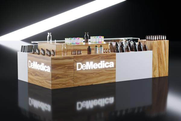 Cosmetics stand