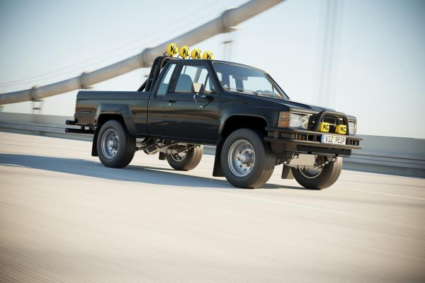 Japan classic offroad pickup