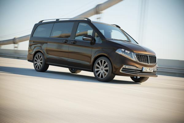 Germen luxury van
